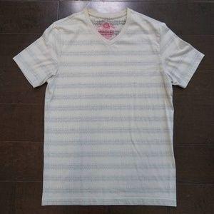 American Rag | Striped V-Neck T-Shirt